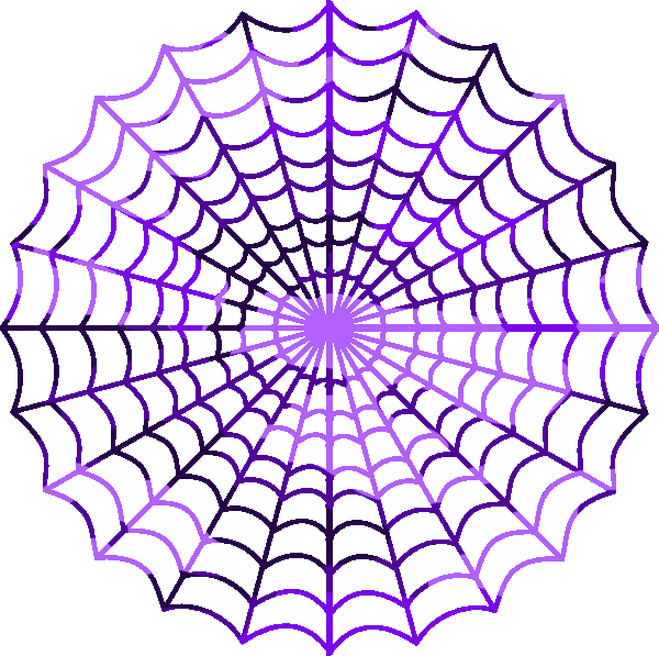 clip art free library Camouflage purple spiders free. Spider web clipart