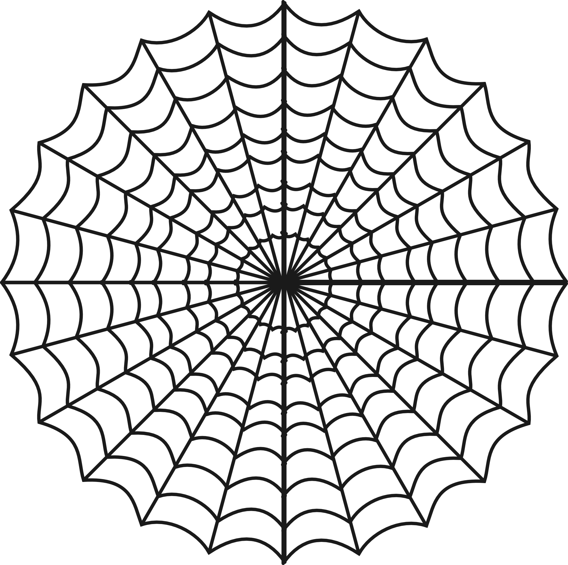 clip free library White spider web clipart. Spiderman pencil and in