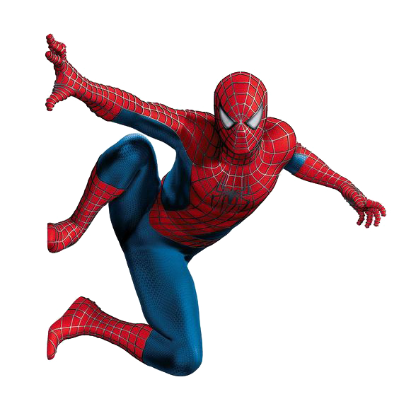 vector black and white download Spiderman On A Wall