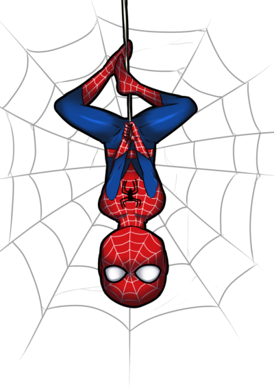 clipart free download Spiderman web clipart. Clipartaz free collection spider