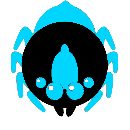 graphic download Neon Giant Spider