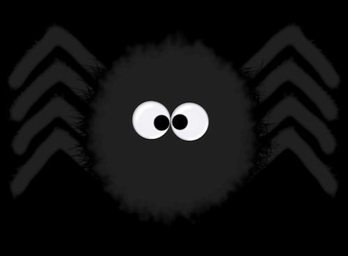 jpg black and white HALLOWEEN SPIDER