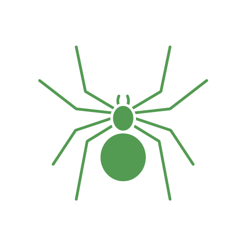 vector stock Spiders clipart green spider. Pest control extermination in.