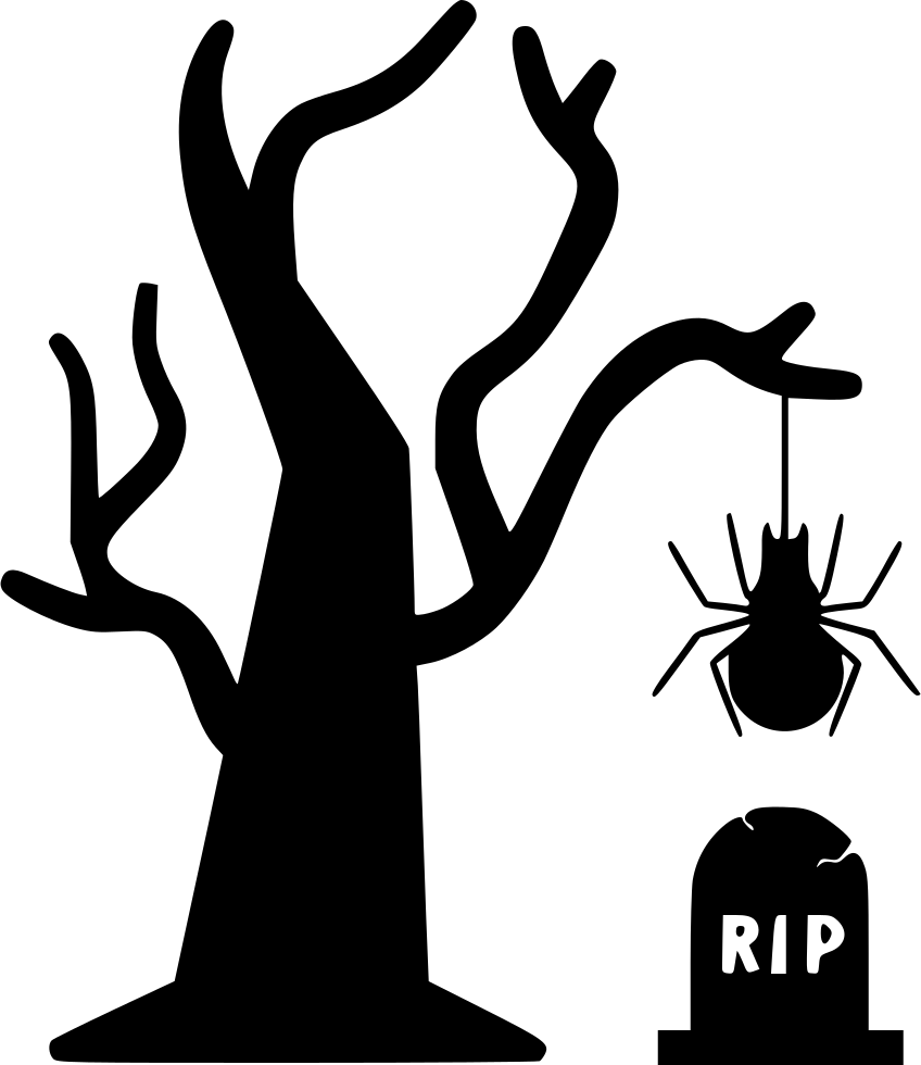 banner freeuse library Collection of free Graves clipart dead spider