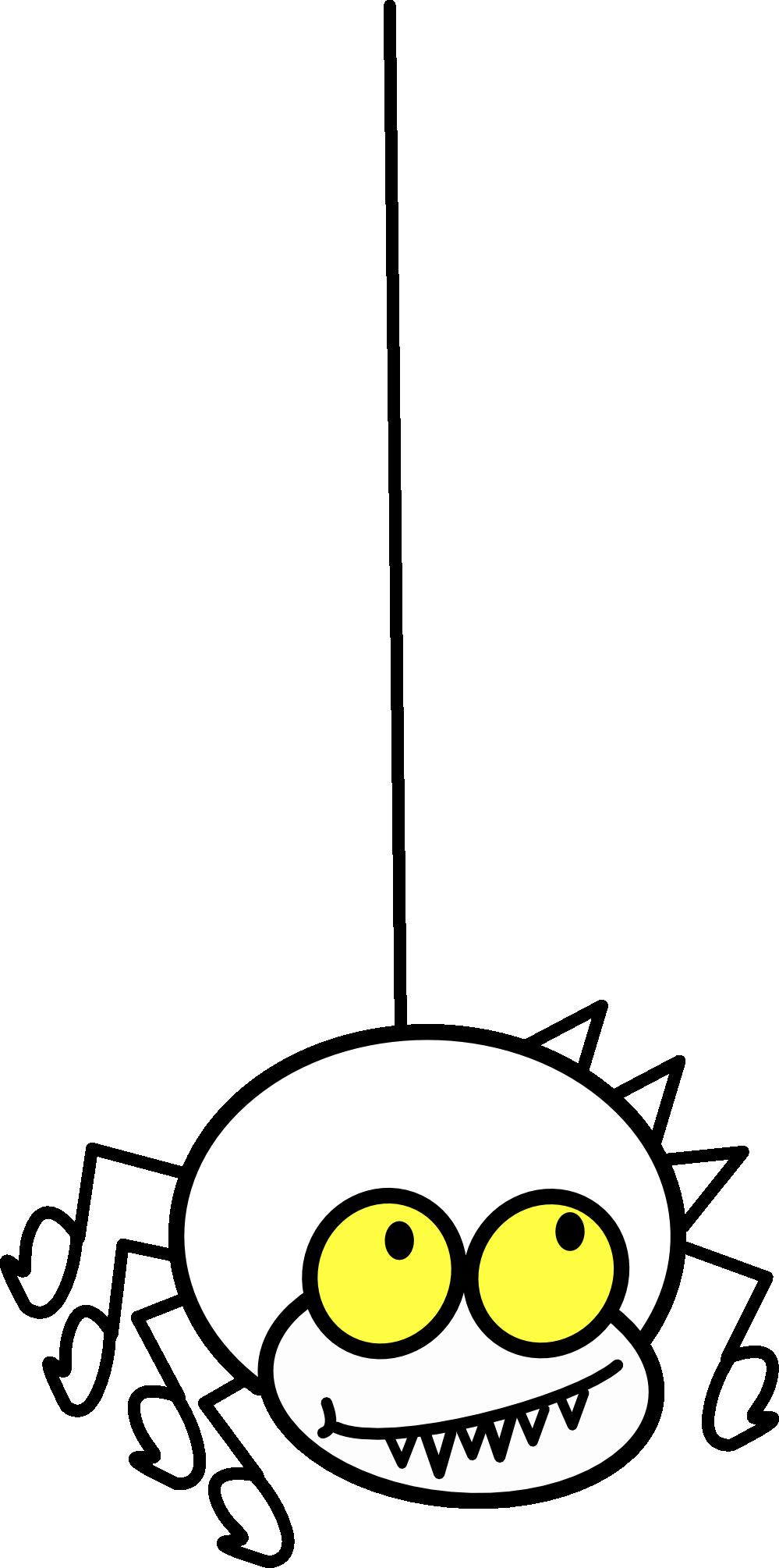 jpg black and white stock Itsy Bitsy Spider Clipart