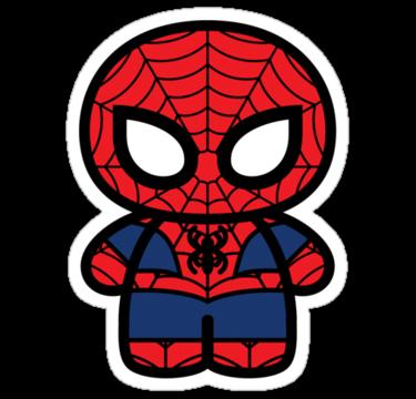 image transparent Chibi Spiderman