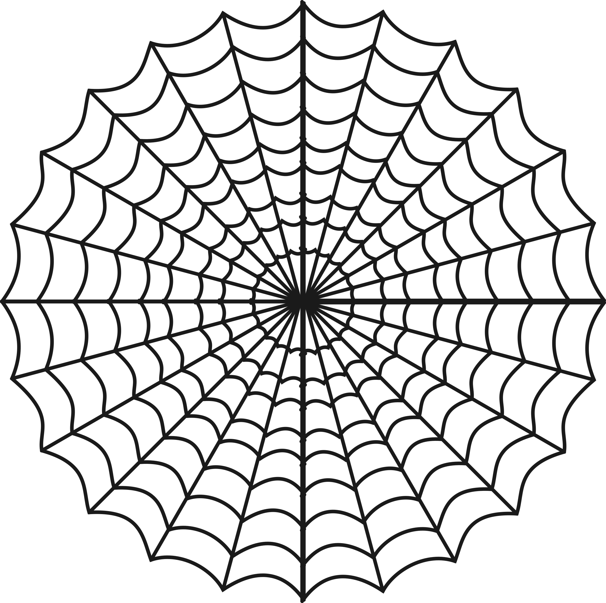 image freeuse Spiders big image png. Web clipart black and white
