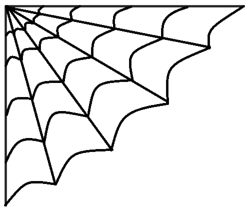 clip royalty free download Corner spider web clipart. Halloween black and white