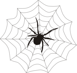 jpg freeuse Spider i royalty free. Web clipart