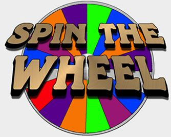 vector freeuse library Spinning prize . Spin the wheel clipart