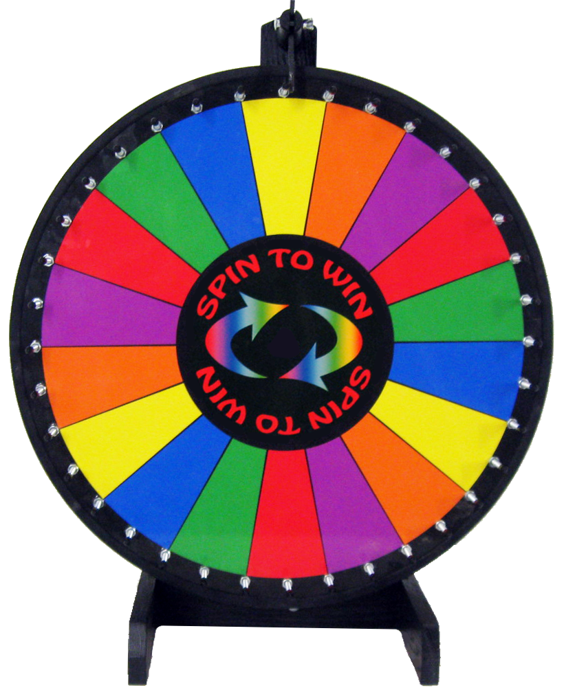 clipart free library Carnival prize players to. Spin the wheel clipart