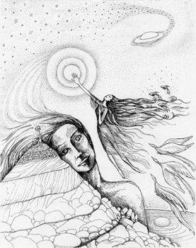 clipart transparent library Spiritual drawing. Psychic instructor shari scott.