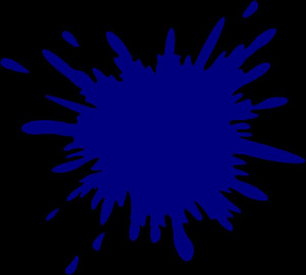 svg freeuse Dark Blue Splash Clip Art at Clker
