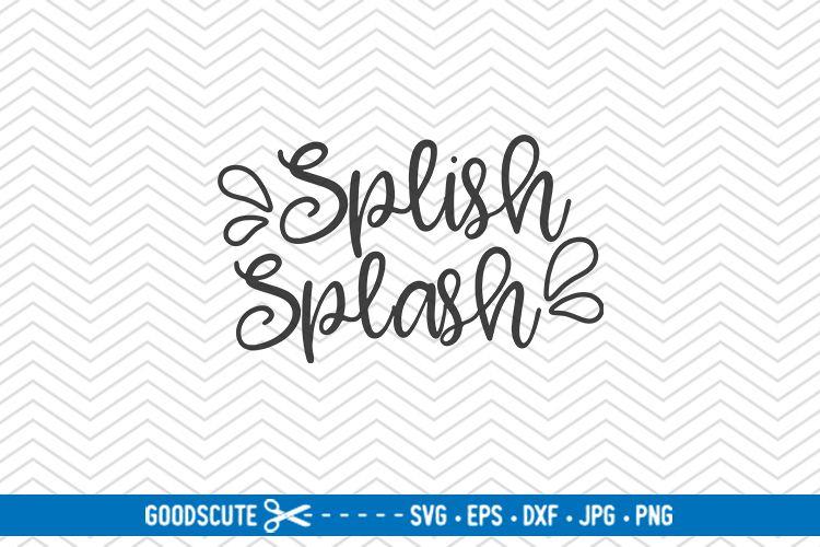 clip art black and white download Splish Splash
