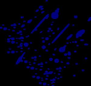 banner freeuse library Blue Splitter Splatter Clip Art at Clker