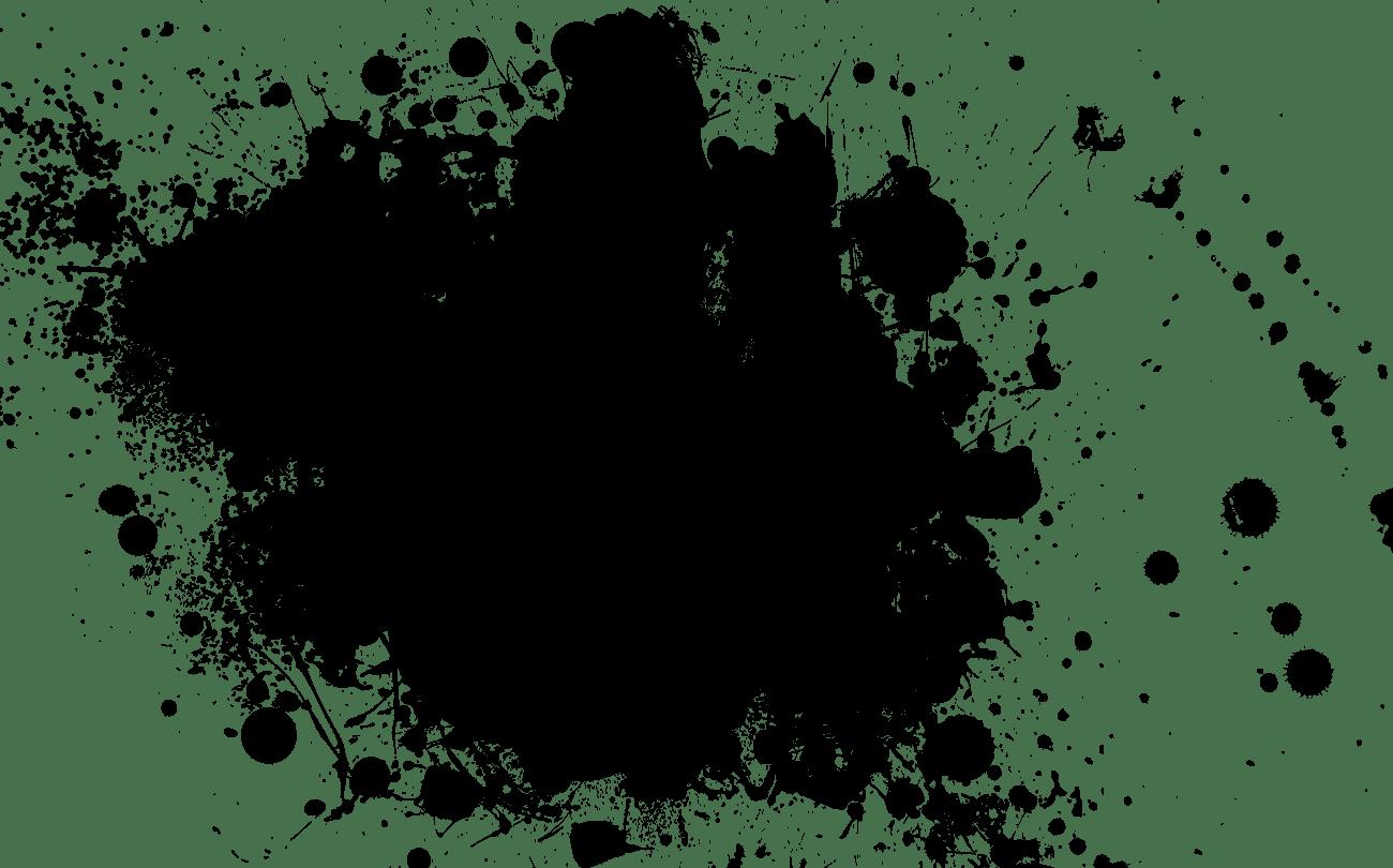transparent splash transparent effect paint #103556651
