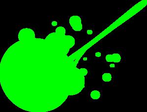 clip art black and white Green Paint Splatter Clip Art at Clker