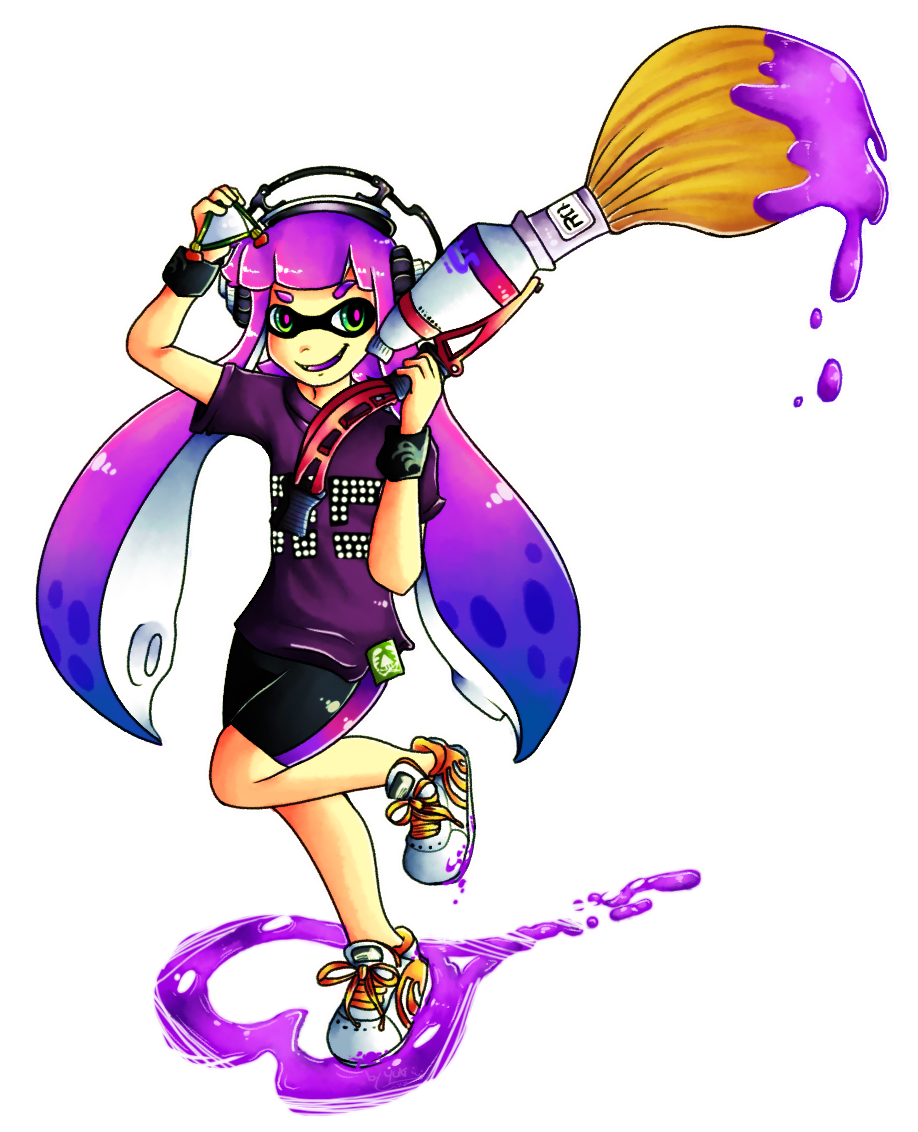 picture free library SPLATOON