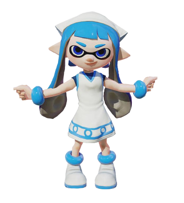 png black and white library splatoon