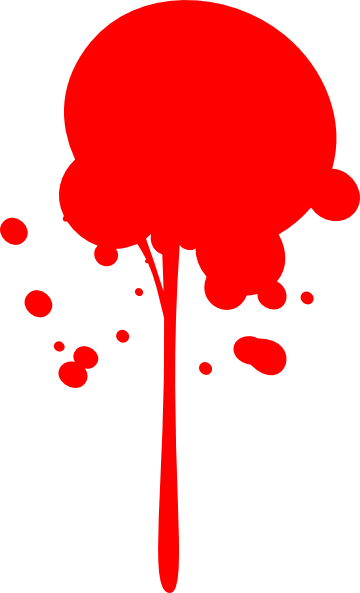 clip royalty free download Splatter clipart. Red paint clip art.