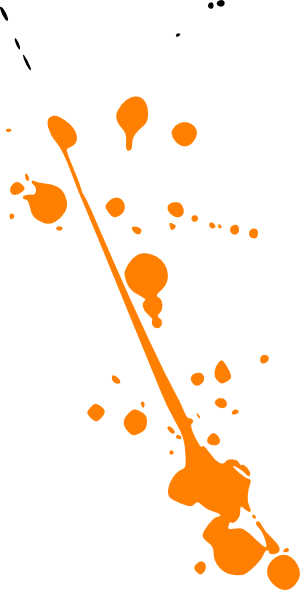 jpg transparent download Paint Splat Orange Clip Art At Clker Com Vector Clip Art Online