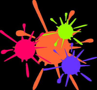 vector library download Paint splatter clip art