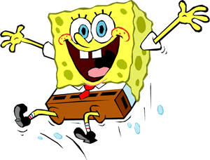 jpg library Spongebob Logo Vectors Free Download