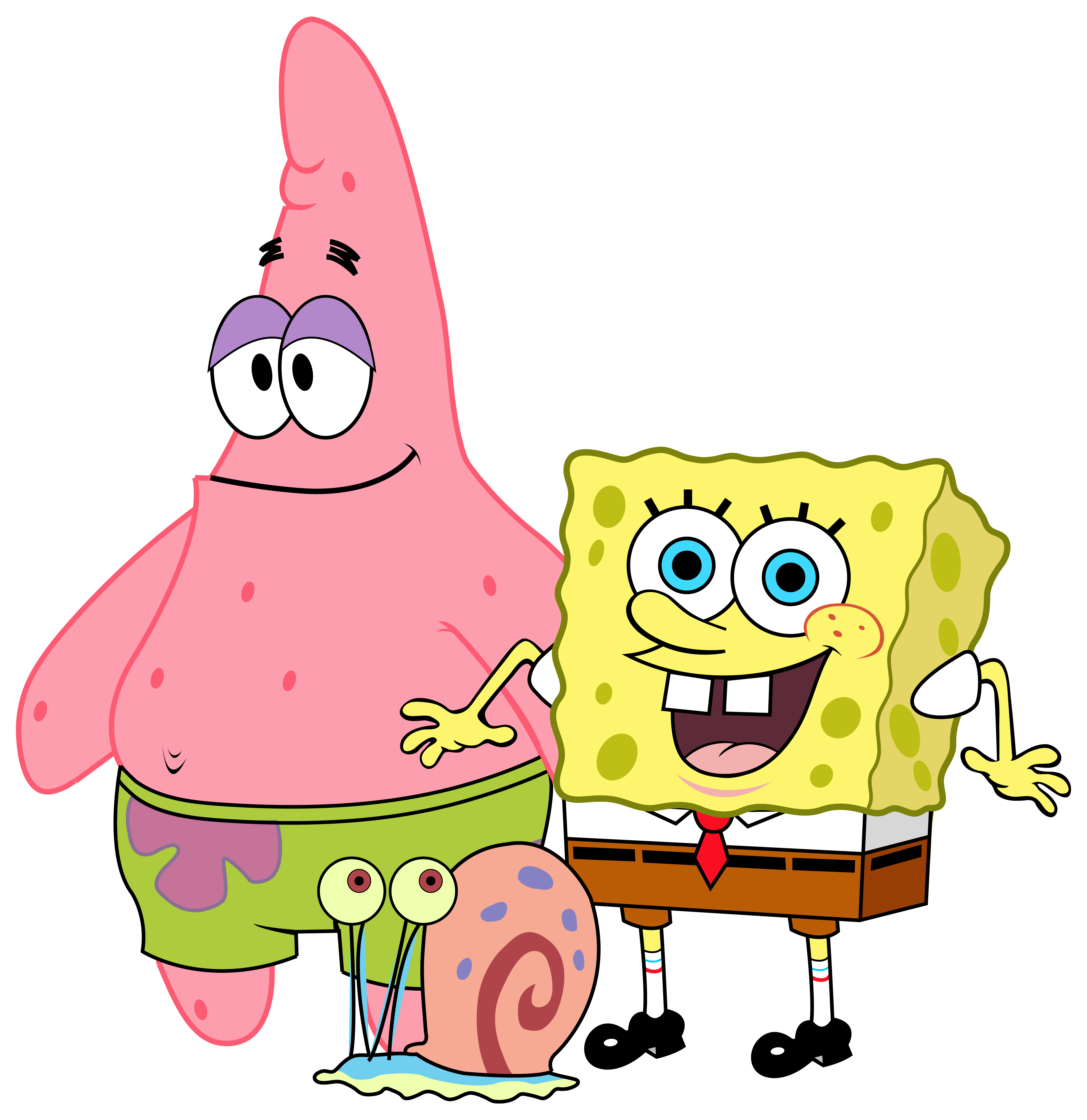 graphic freeuse download Happy birthday friend clipart. Spongebob and friends png