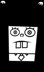 clipart free download Image px doodlebob png. Spongebob svg.