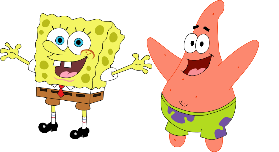 picture free stock Spongebob svg. And patrick icon pack.