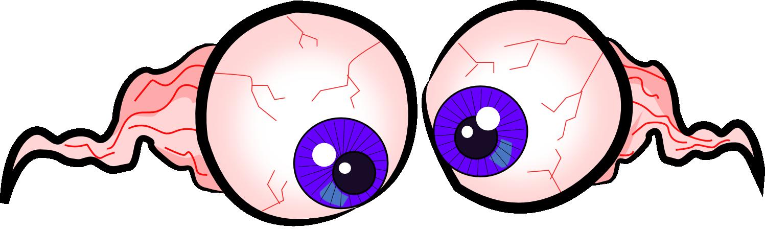 banner royalty free eyeball clipart gross #78604071