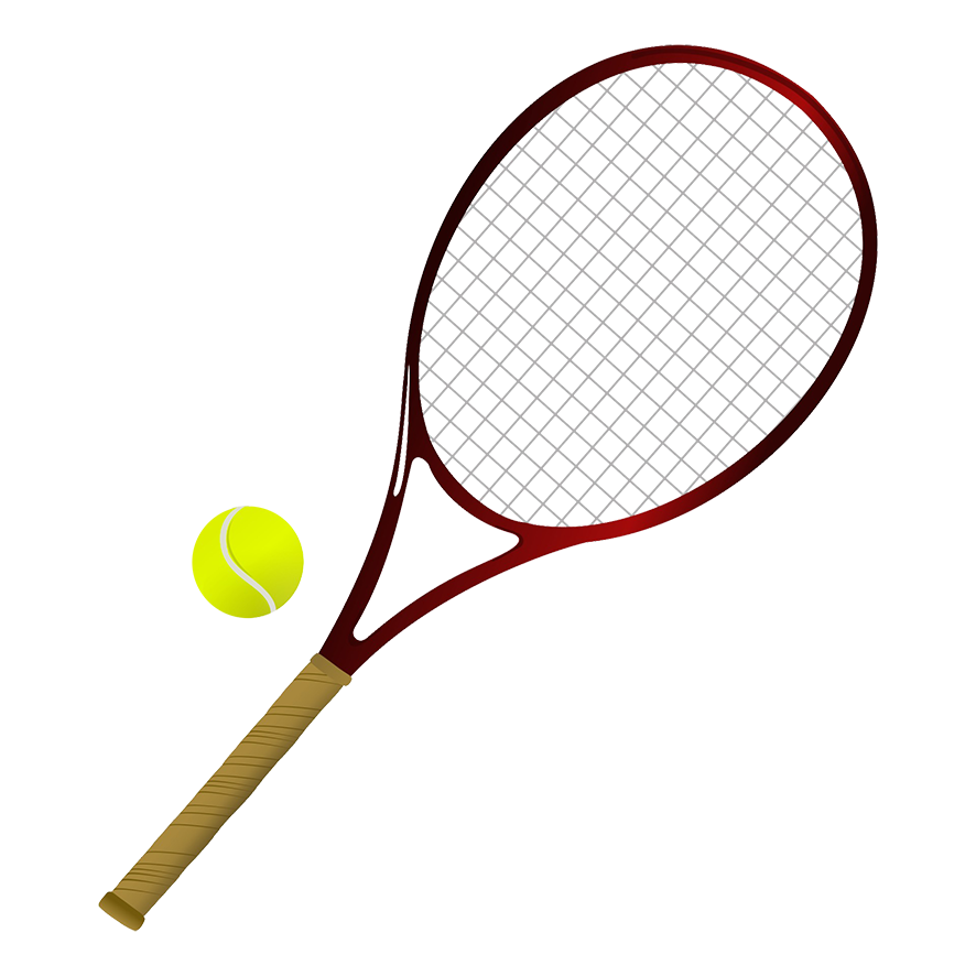 svg library Different kinds of sports. Words clipart tennis.