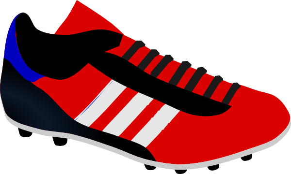 clip black and white Sport Shoe Clip Art at Clker