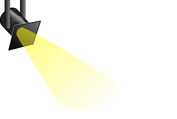 banner freeuse download Spotlight Clip Art Free