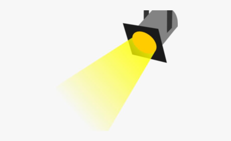 clipart transparent library Lighter spot right free. Spotlight clipart.
