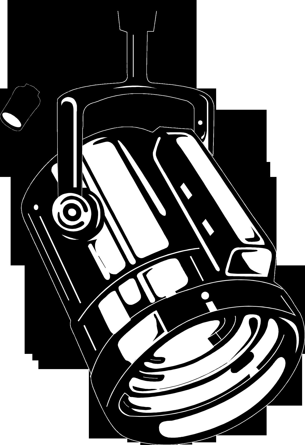 svg freeuse download Spotlight Clipart