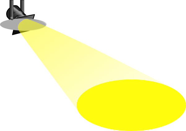 freeuse stock Spotlight Clip Art at Clker