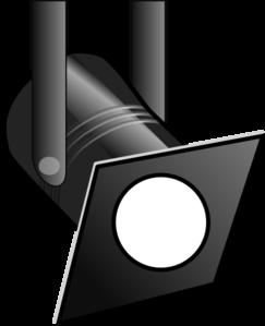 clip transparent stock White Spotlight Clip Art at Clker