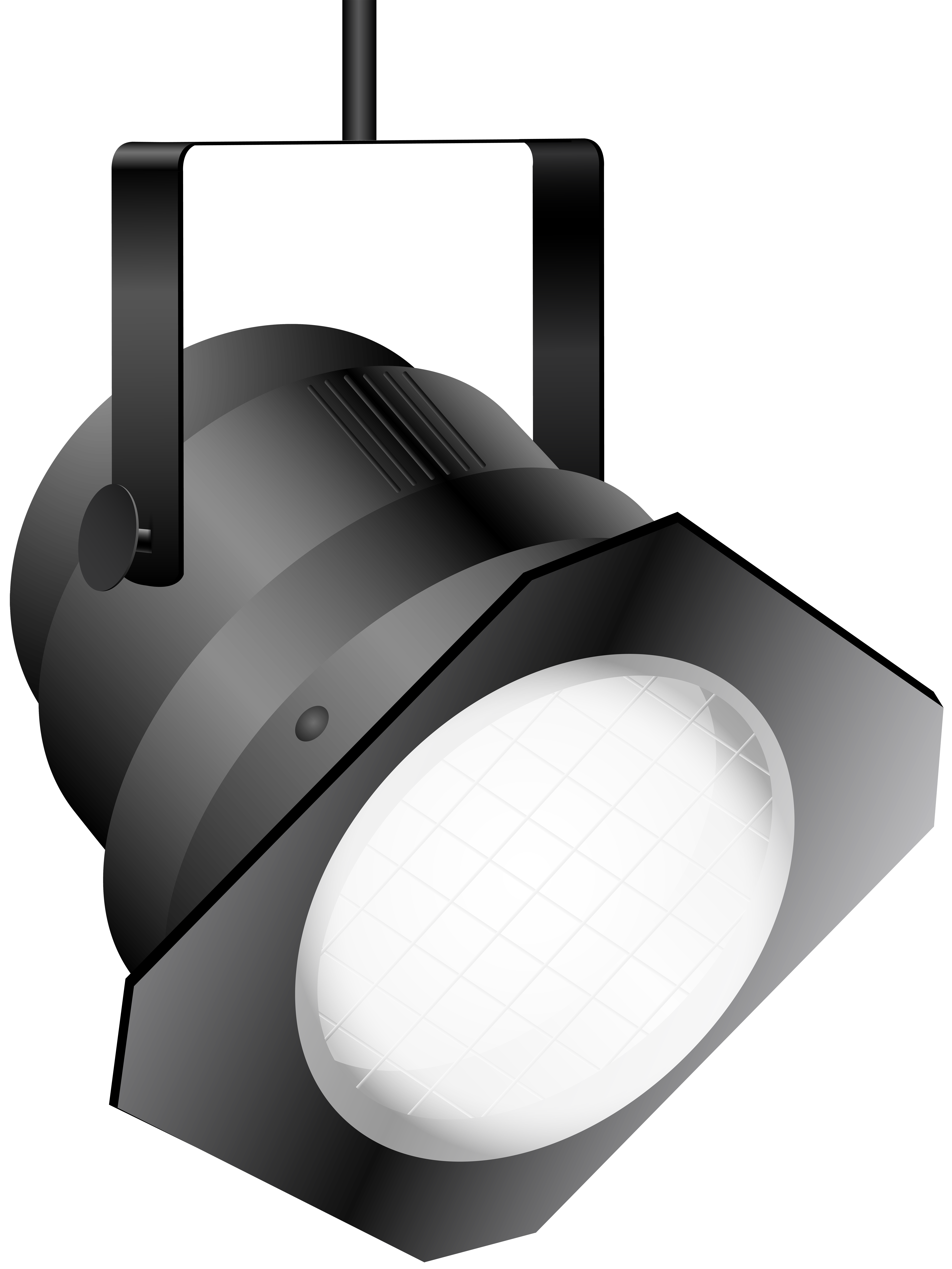 clip art stock Spotlight clipart black and white. Effect stage png finest