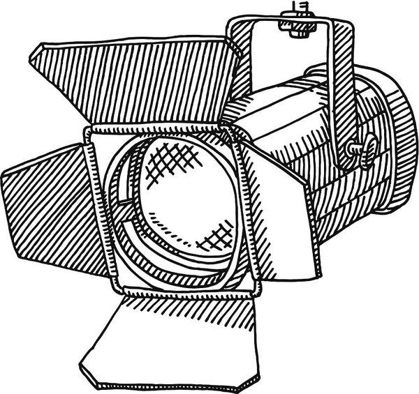 jpg freeuse stock Studio Spotlight Drawing Art Print