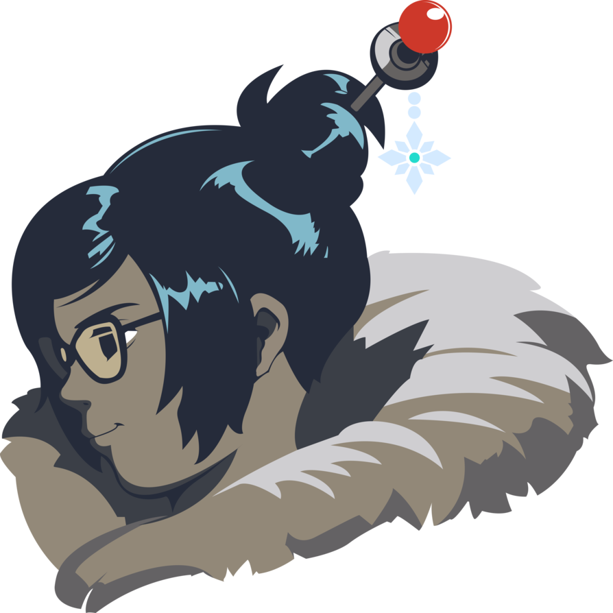 svg black and white Mei Spray by bloodyhell