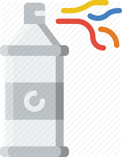 clip art black and white stock spray vector birthday #103601496
