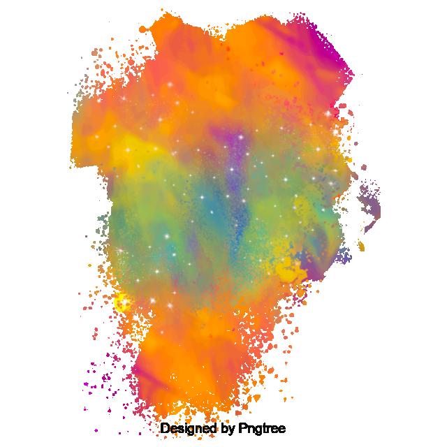 jpg transparent download Color Powder Spray Effect