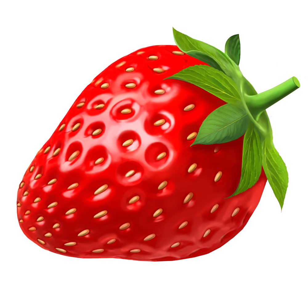 svg black and white Strawberry PNG images