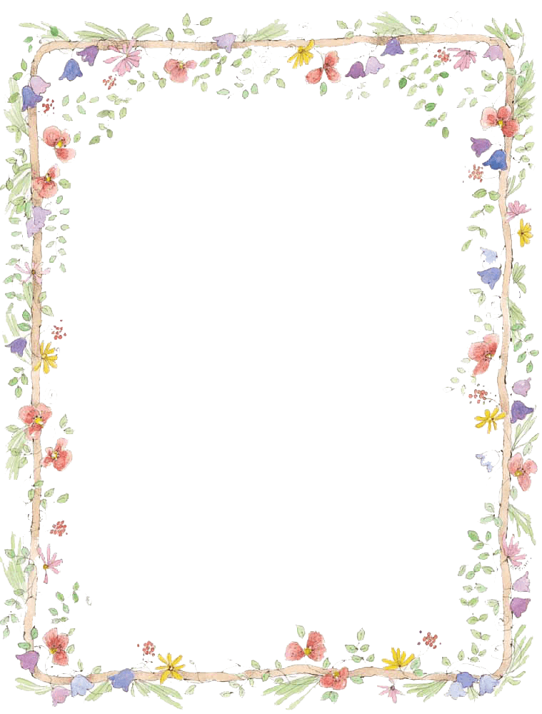 picture transparent download And frames tier brianhenry. Spring clipart borders