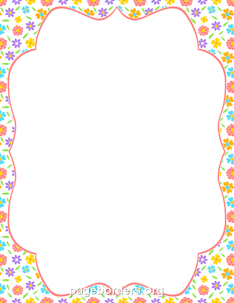 clipart free Spring clipart borders. Pin by muse printables
