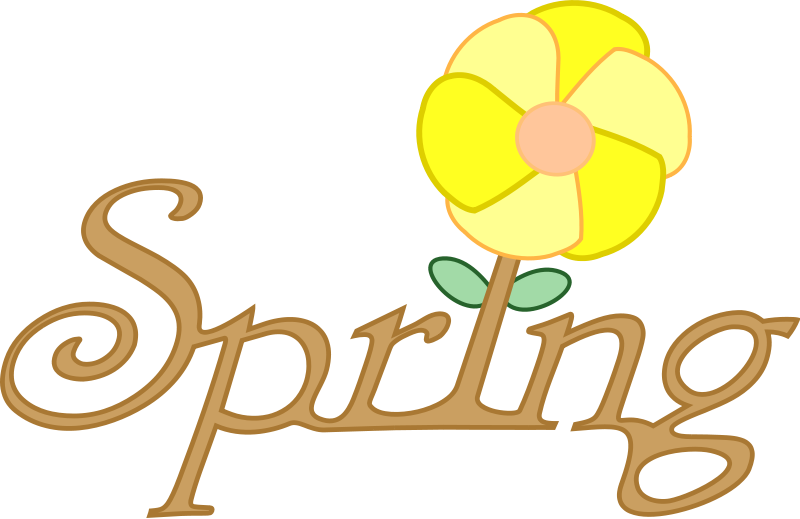 vector royalty free Spring Clipart