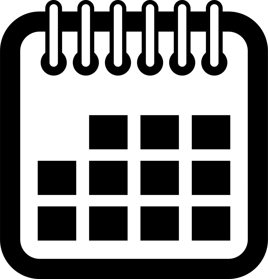 clip royalty free Calendar Spring And Squares Interface Symbol Svg Png Icon Free