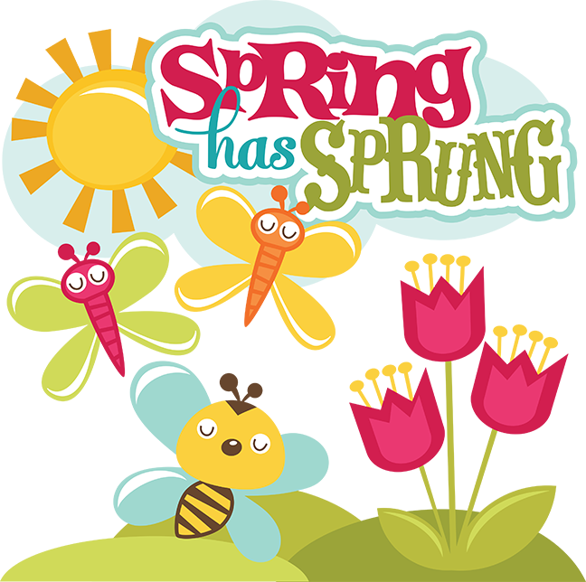 clipart library download Spring Has Sprung SVG scrapbook collection svg files for scrapbooks