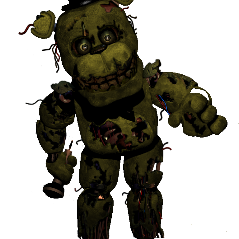 png royalty free library The fourth installment of the Springtrap styled animatronics